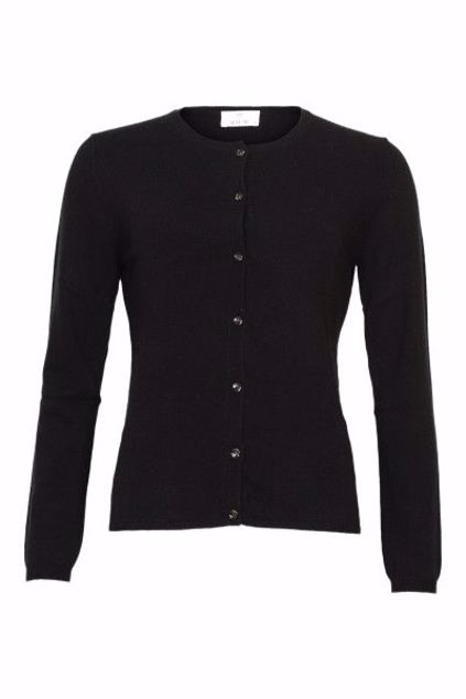 ALLUDE CASHMERE CARDIGAN SORT