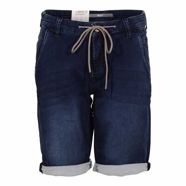 MAC JOGGIN SHORTS BLUE DENIM
