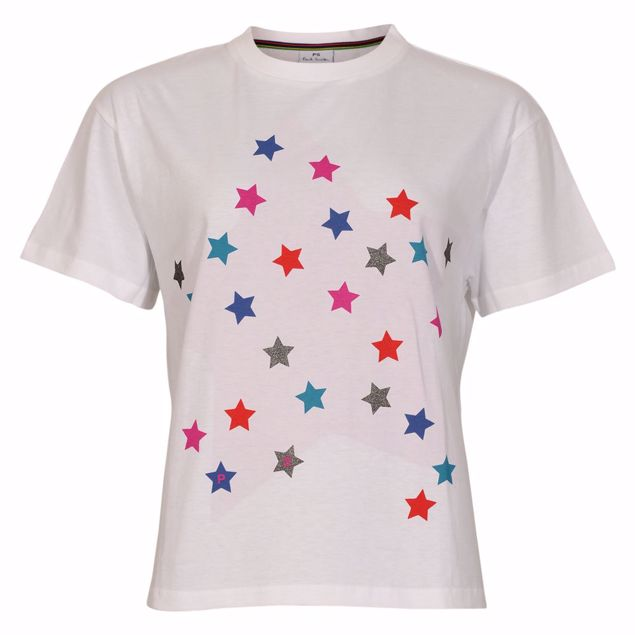 PAUL SMITH T-SHIRT STJERNE MOTIV