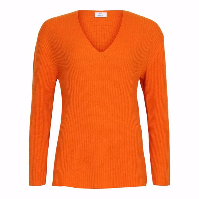 ALLUDE CASHMERE STRIK ORANGE