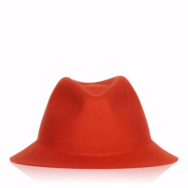 BRONTE FILT HAT ORANGE