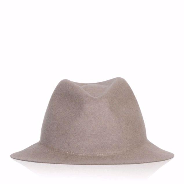 BRONTE FILT HAT TAUPE