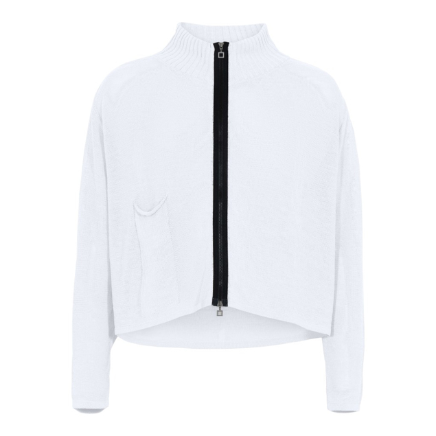 SARAH PACINI CARDIGAN OFF.WHITE