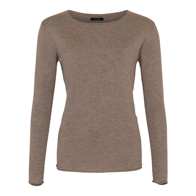 OH SIMPLE CASHMERE/SILKE STRIK BRUN