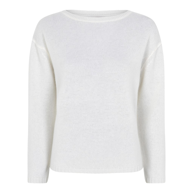 HEMISPHERE CASHMERE STRIK OFF.WHITE